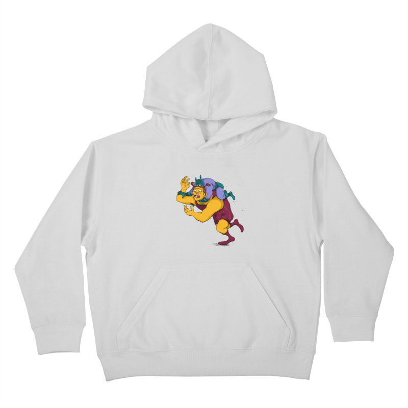 Wrasslin' Kids Pullover Hoody by mikeshea's Artist Shop