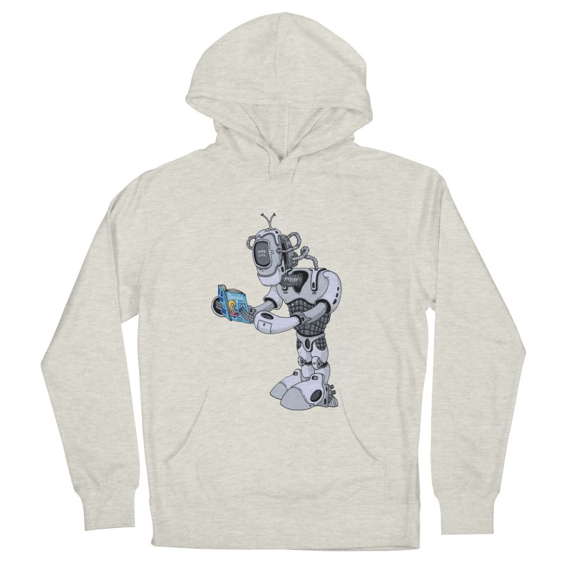 Brobot Women's Pullover Hoody by mikeshea's Artist Shop