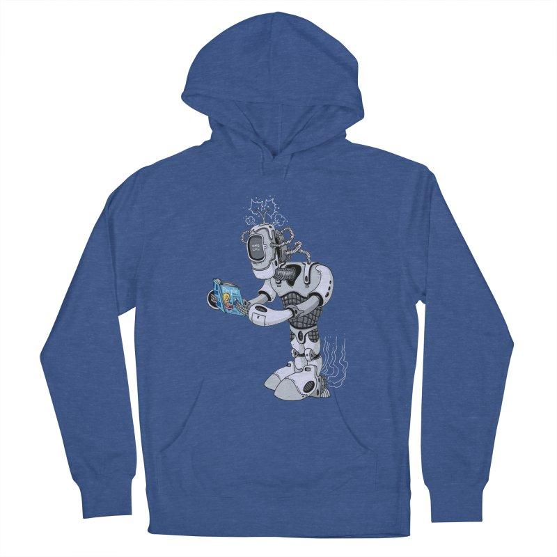 Brobot Men's Pullover Hoody by mikeshea's Artist Shop