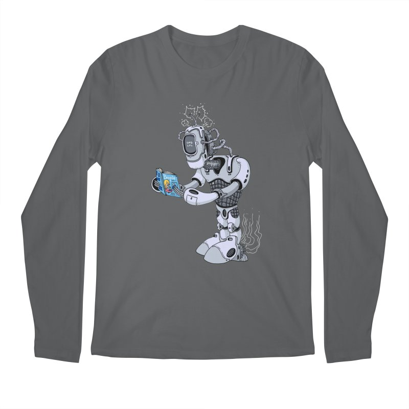 Brobot Men's Longsleeve T-Shirt by mikeshea's Artist Shop