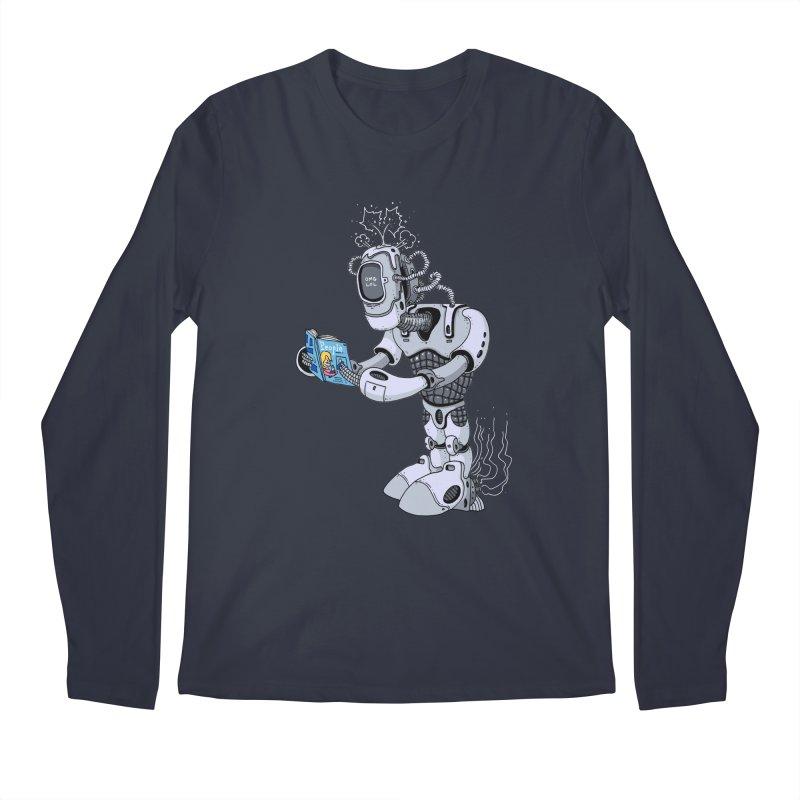 Brobot Men's Longsleeve T-Shirt by mikeshea's Artist Shop