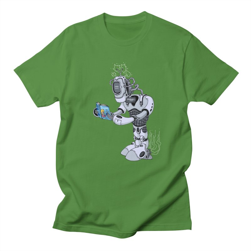 Brobot Men's T-shirt by mikeshea's Artist Shop