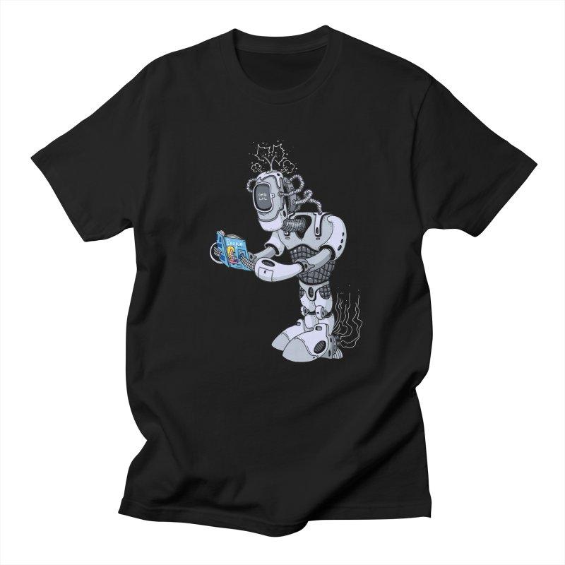 Brobot Men's Regular T-Shirt by mikeshea's Artist Shop