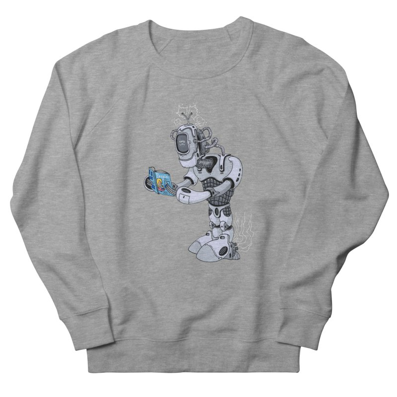 Brobot Men's Sweatshirt by mikeshea's Artist Shop