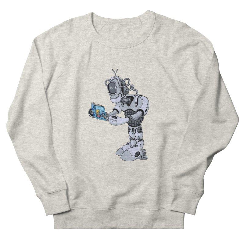 Brobot Men's Sweatshirt by mikeshea's Artist Shop
