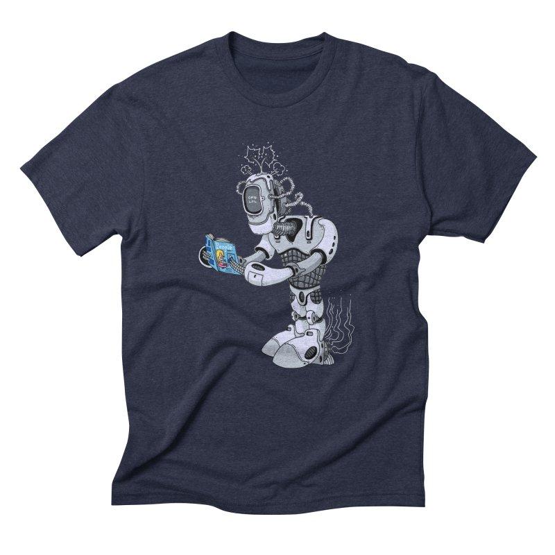 Brobot Men's Triblend T-Shirt by mikeshea's Artist Shop