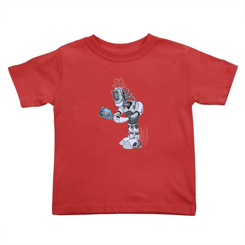 Brobot Kids Toddler T-Shirt by mikeshea's Artist Shop