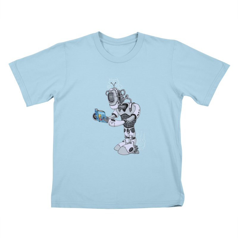 Brobot Kids T-Shirt by mikeshea's Artist Shop