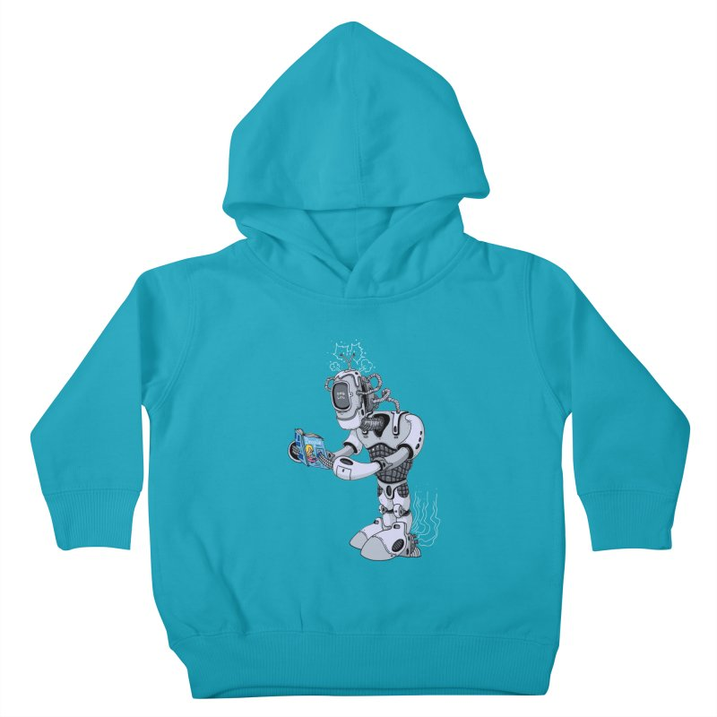 Brobot Kids Toddler Pullover Hoody by mikeshea's Artist Shop