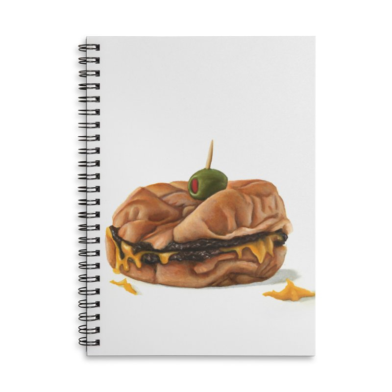 Galley Boy Accessories Lined Spiral Notebook by mikesobeck's Artist Shop