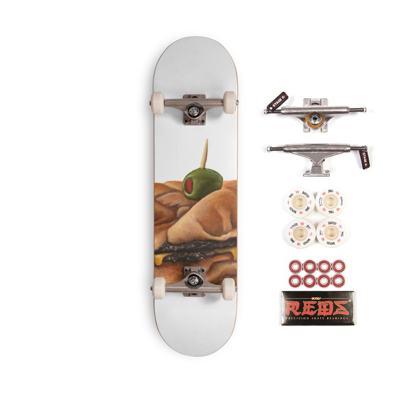 Galley Boy Accessories Complete - Pro Skateboard by mikesobeck's Artist Shop