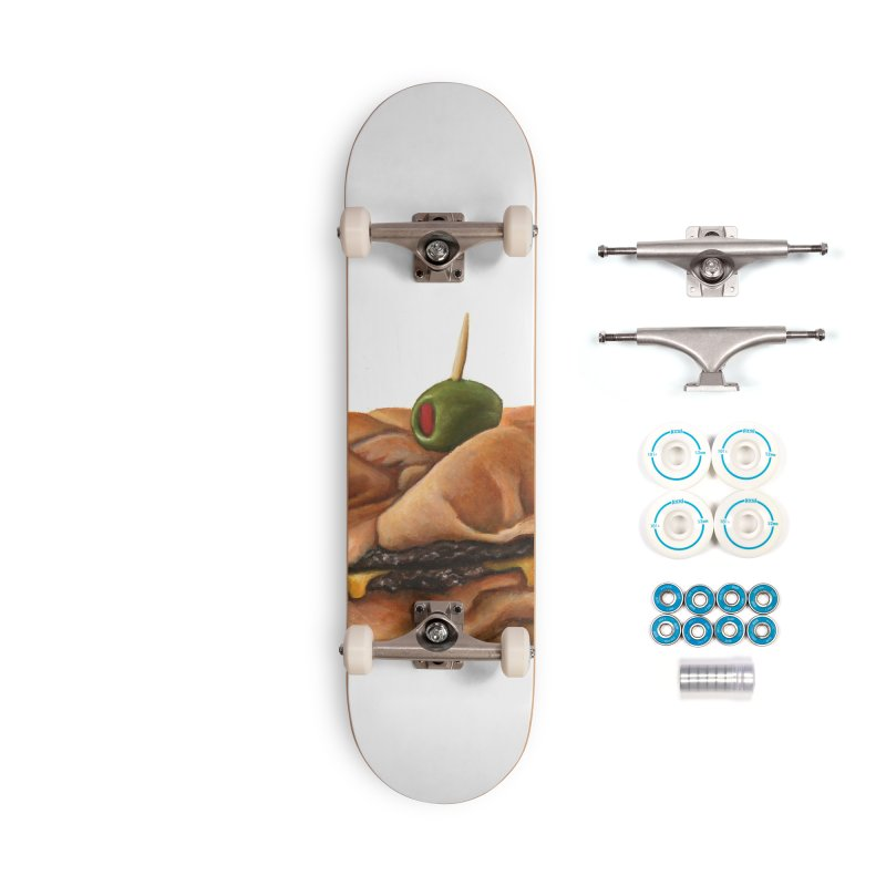 Galley Boy Accessories Complete - Basic Skateboard by mikesobeck's Artist Shop