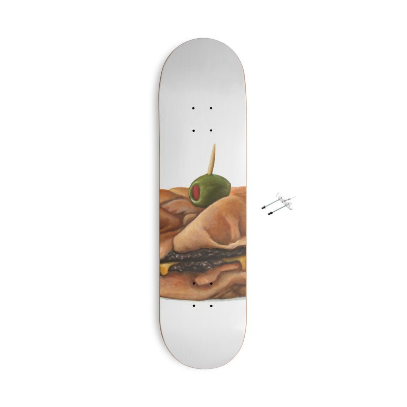 Galley Boy Accessories With Hanging Hardware Skateboard by mikesobeck's Artist Shop