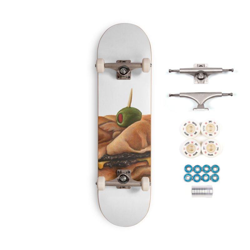 Galley Boy Accessories Complete - Premium Skateboard by mikesobeck's Artist Shop