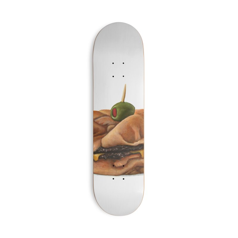 Galley Boy Accessories Deck Only Skateboard by mikesobeck's Artist Shop