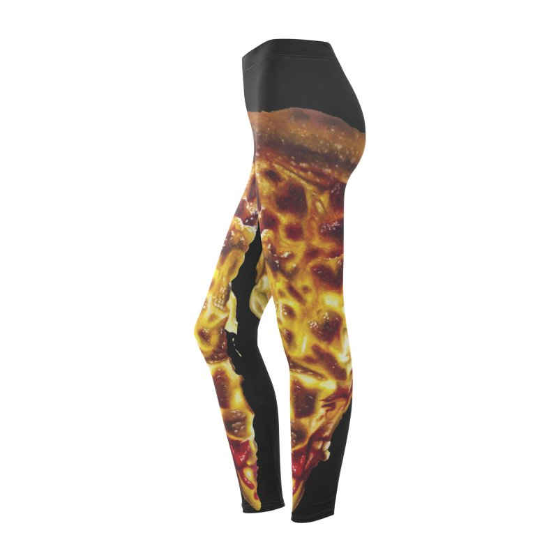 Pizza Leggings Women's Bottoms by mikesobeck's Artist Shop