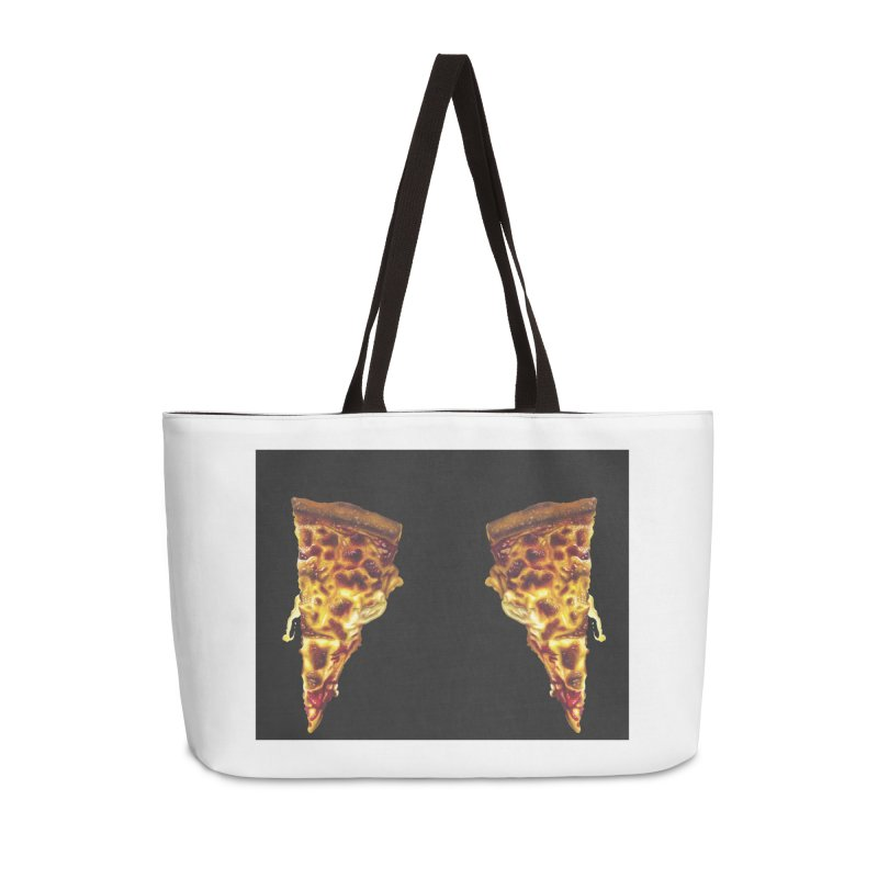 Pizza Leggings Accessories Weekender Bag Bag by mikesobeck's Artist Shop