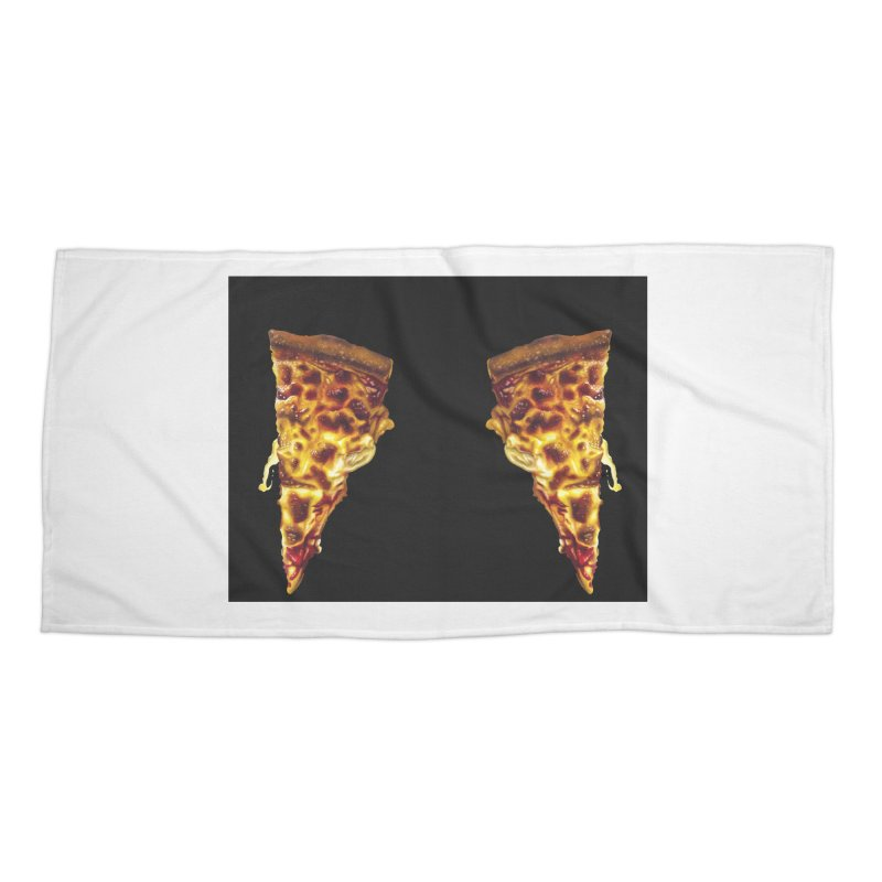 Pizza Leggings Accessories Beach Towel by mikesobeck's Artist Shop