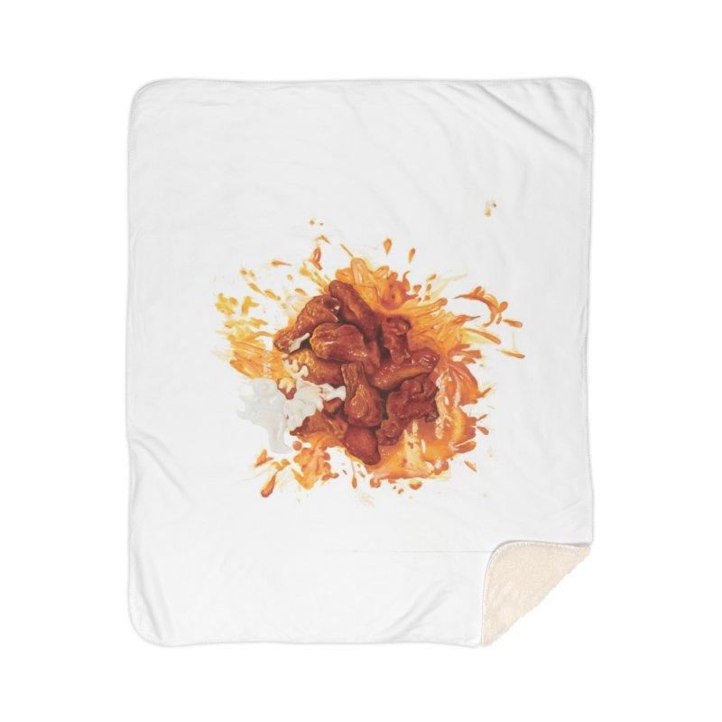 Wings Home Sherpa Blanket Blanket by mikesobeck's Artist Shop