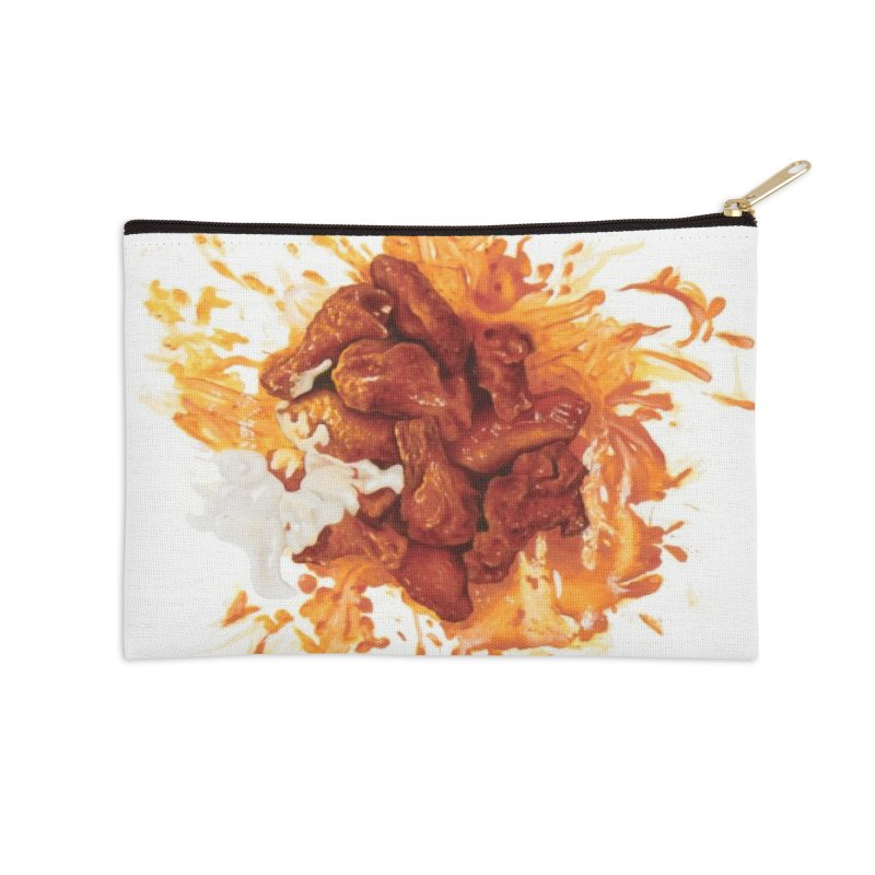 Wings Accessories Zip Pouch by mikesobeck's Artist Shop