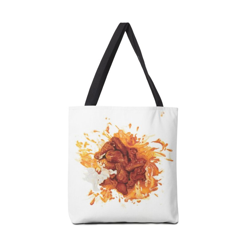 Wings Accessories Tote Bag Bag by mikesobeck's Artist Shop