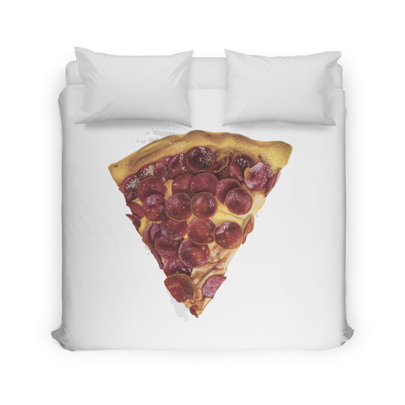 Pepperoni Home Duvet by mikesobeck's Artist Shop