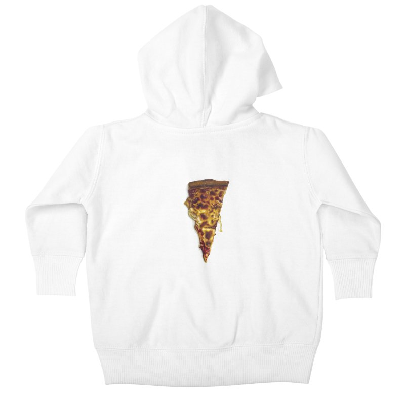 Cheese Kids Baby Zip-Up Hoody by mikesobeck's Artist Shop