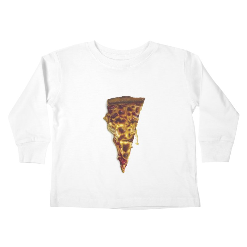 Cheese Kids Toddler Longsleeve T-Shirt by mikesobeck's Artist Shop