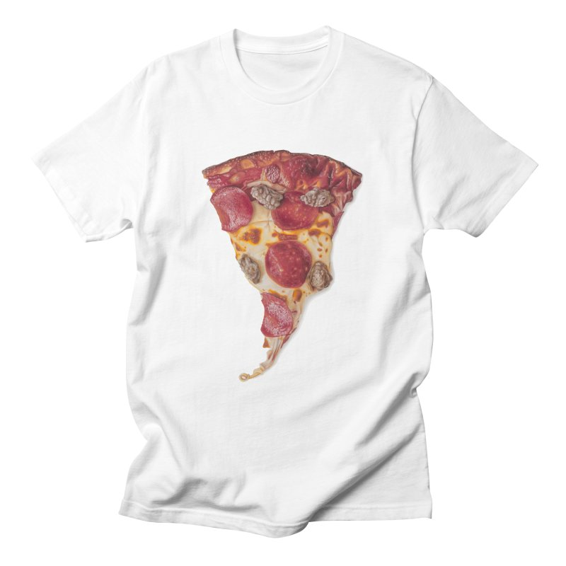 Pepperoni and Sausage Men's T-shirt by mikesobeck's Artist Shop