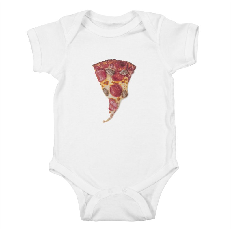 Pepperoni and Sausage Kids Baby Bodysuit by mikesobeck's Artist Shop