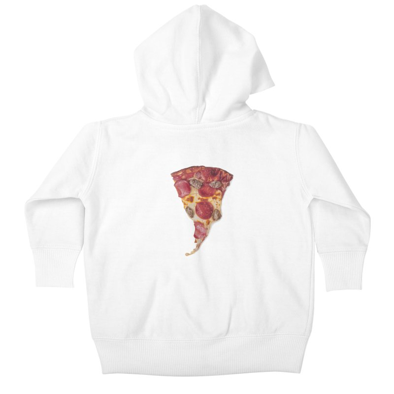 Pepperoni and Sausage Kids Baby Zip-Up Hoody by mikesobeck's Artist Shop