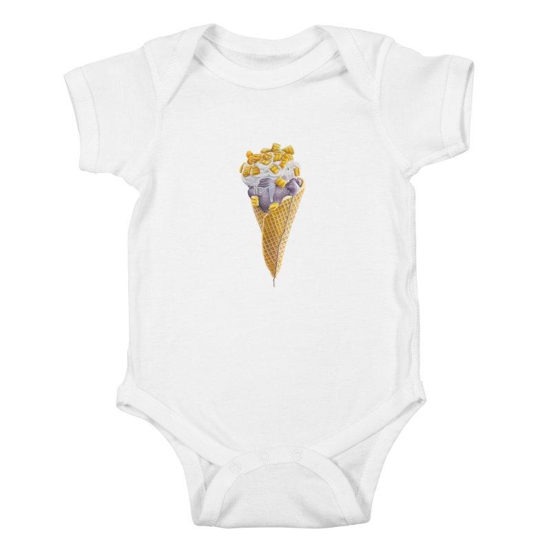 Mason's Cone Kids Baby Bodysuit by mikesobeck's Artist Shop