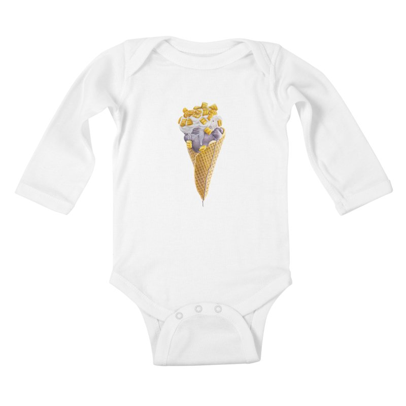 Mason's Cone Kids Baby Longsleeve Bodysuit by mikesobeck's Artist Shop