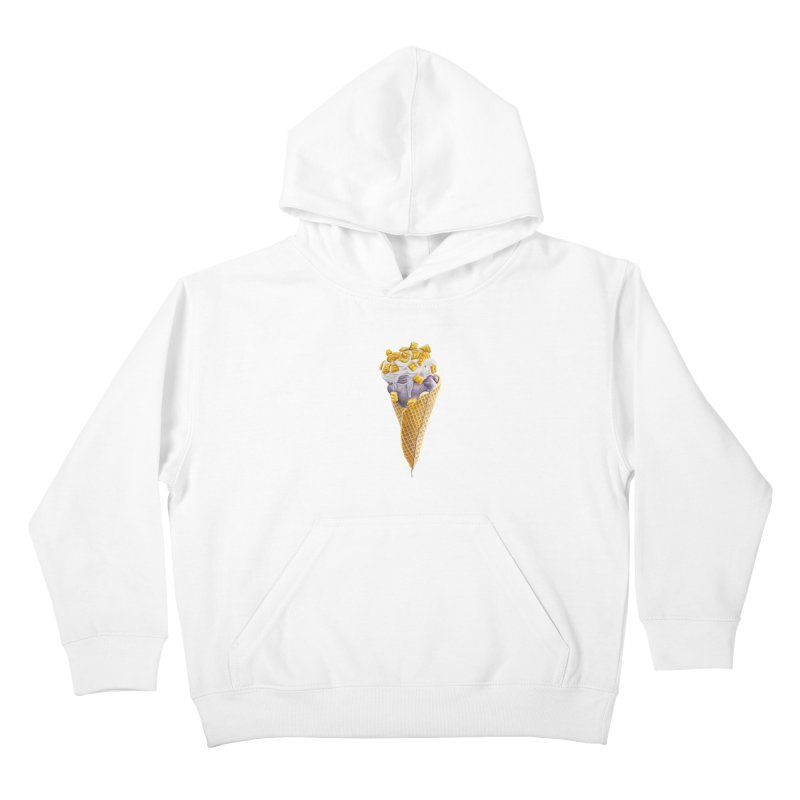 Mason's Cone Kids Pullover Hoody by mikesobeck's Artist Shop