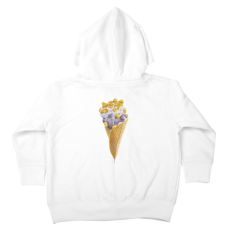 Mason's Cone Kids Toddler Zip-Up Hoody by mikesobeck's Artist Shop