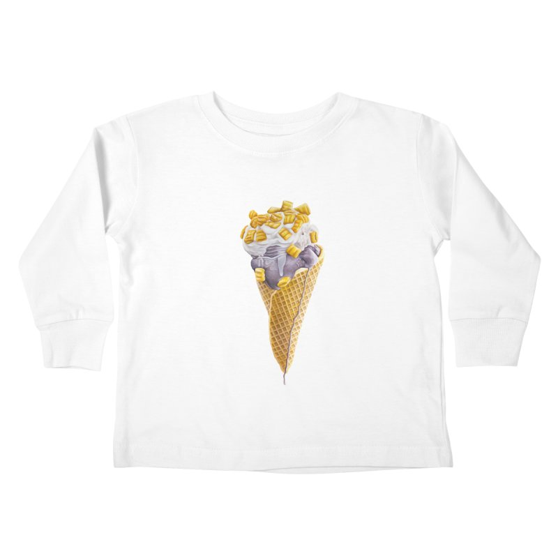 Mason's Cone Kids Toddler Longsleeve T-Shirt by mikesobeck's Artist Shop