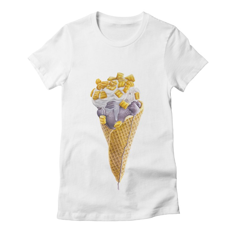 Mason's Cone Women's Fitted T-Shirt by mikesobeck's Artist Shop