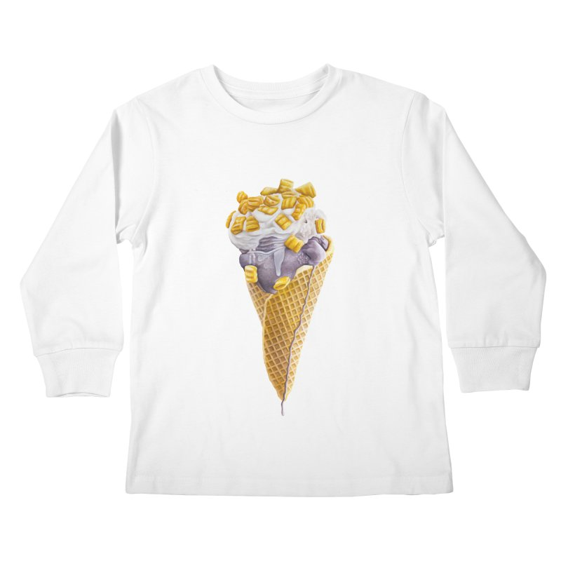 Mason's Cone Kids Longsleeve T-Shirt by mikesobeck's Artist Shop