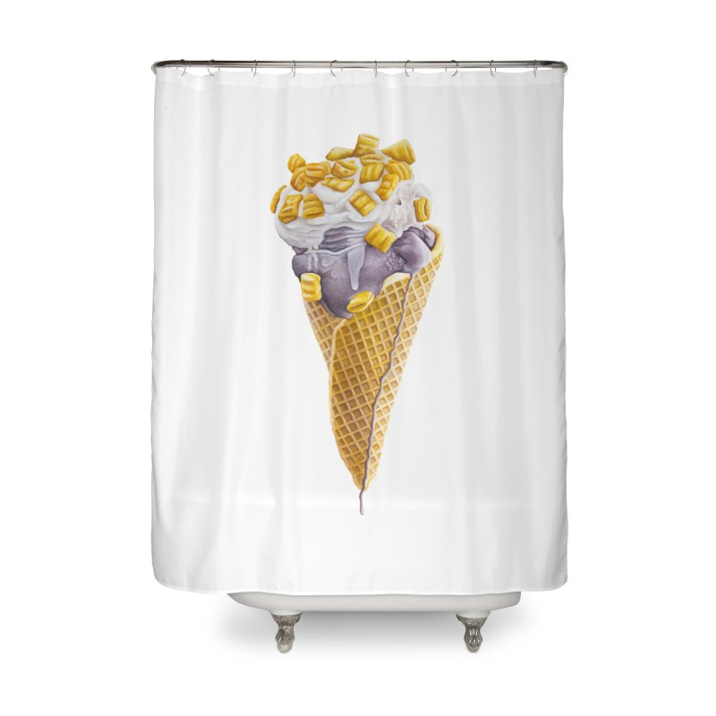 Mason's Cone Home Shower Curtain by mikesobeck's Artist Shop