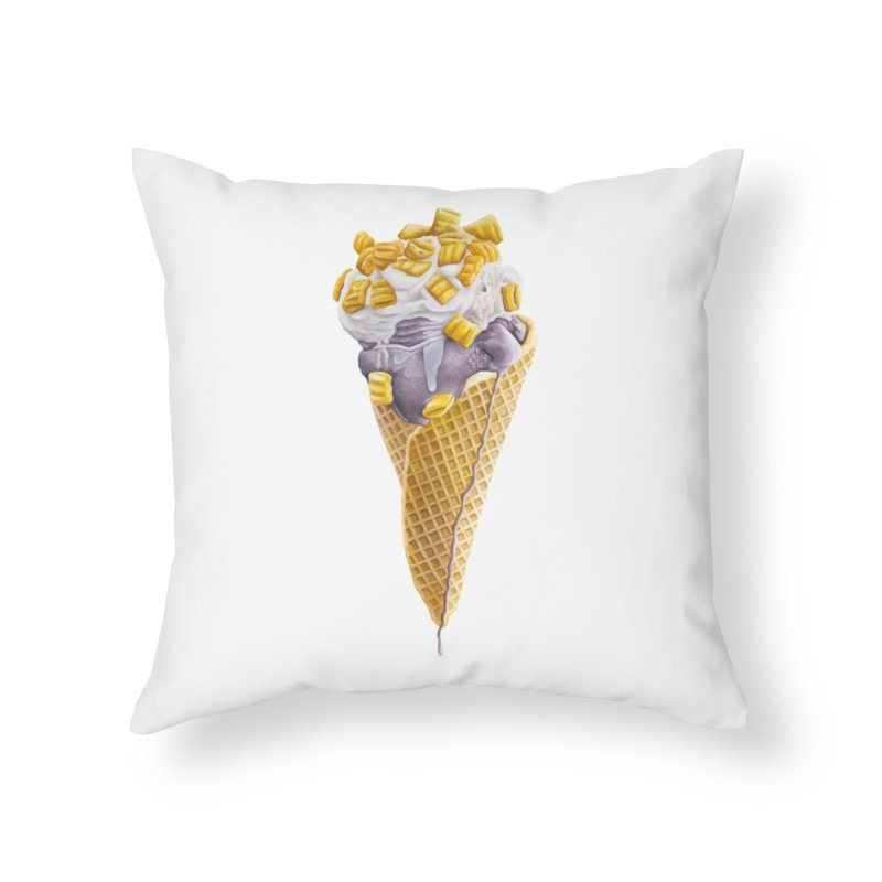 Mason's Cone Home Throw Pillow by mikesobeck's Artist Shop