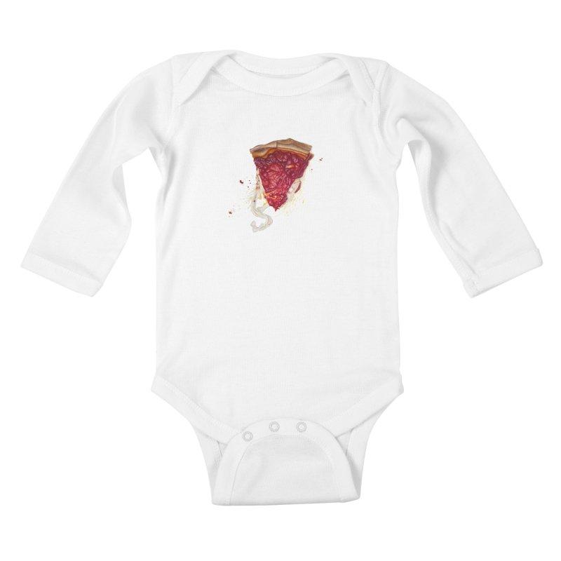 Deep Dish Kids Baby Longsleeve Bodysuit by mikesobeck's Artist Shop