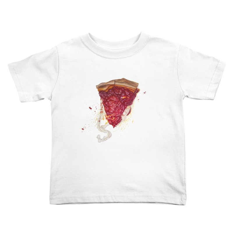 Deep Dish Kids Toddler T-Shirt by mikesobeck's Artist Shop