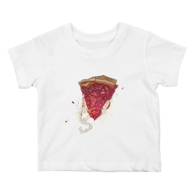 Deep Dish Kids Baby T-Shirt by mikesobeck's Artist Shop