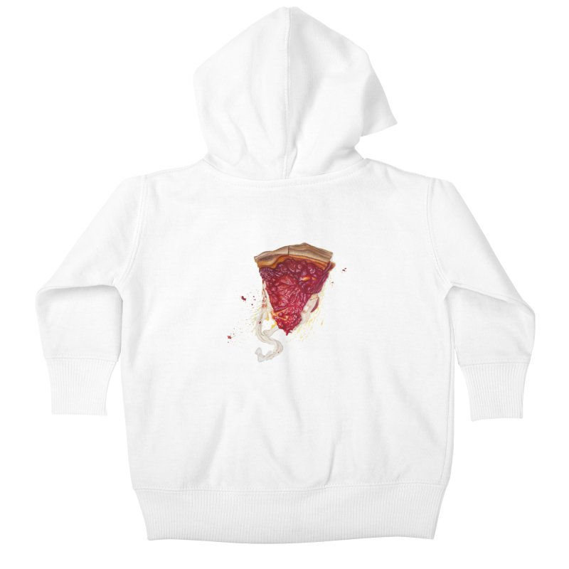 Deep Dish Kids Baby Zip-Up Hoody by mikesobeck's Artist Shop