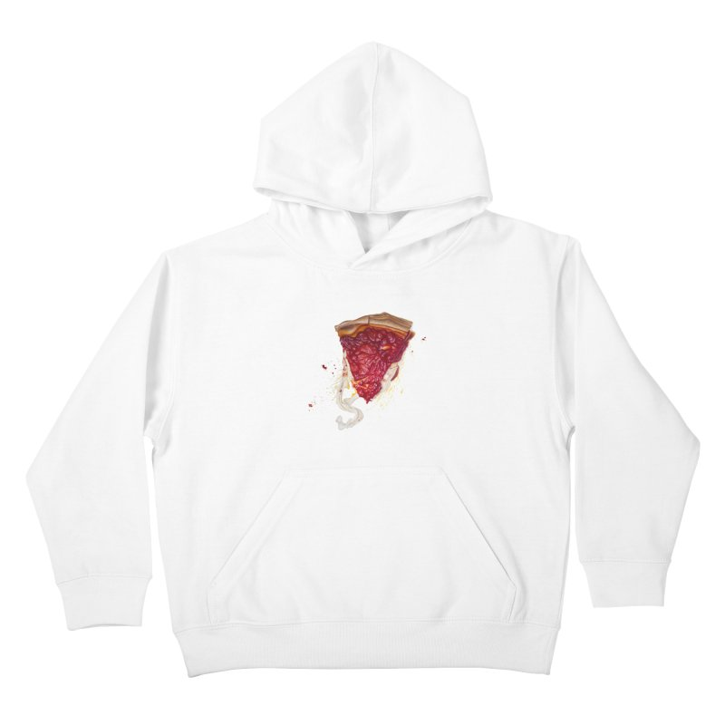 Deep Dish Kids Pullover Hoody by mikesobeck's Artist Shop