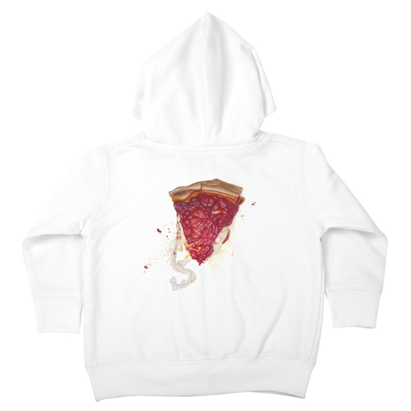 Deep Dish Kids Toddler Zip-Up Hoody by mikesobeck's Artist Shop