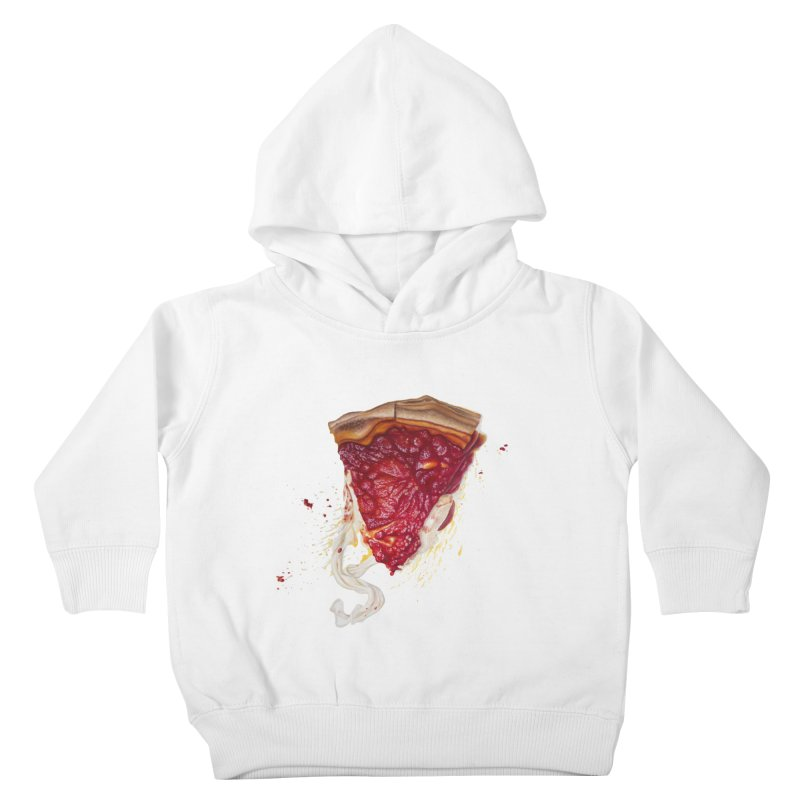 Deep Dish Kids Toddler Pullover Hoody by mikesobeck's Artist Shop