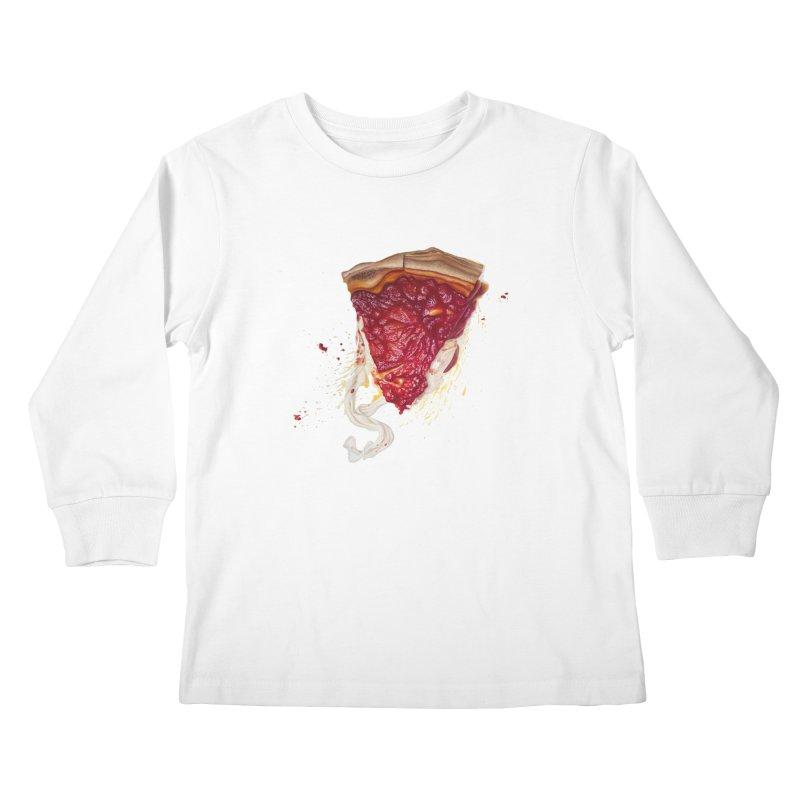 Deep Dish Kids Longsleeve T-Shirt by mikesobeck's Artist Shop