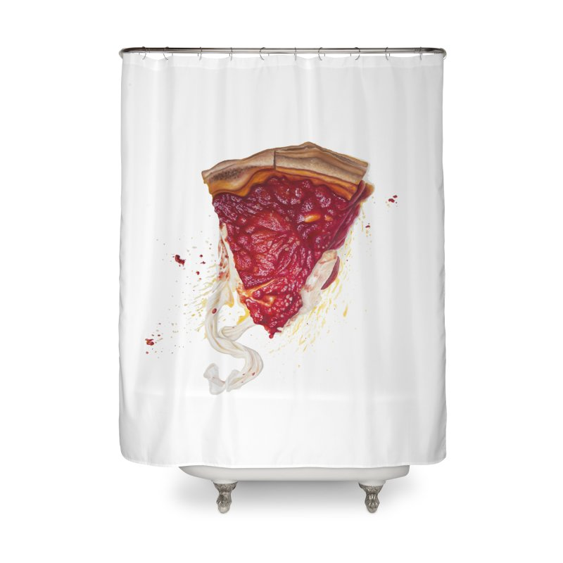 Deep Dish Home Shower Curtain by mikesobeck's Artist Shop