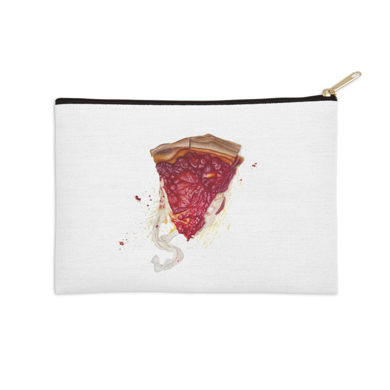 Deep Dish Accessories Zip Pouch by mikesobeck's Artist Shop